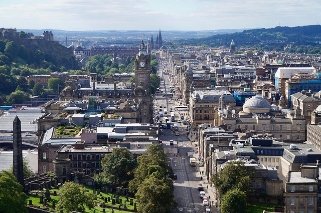 beautiful, lively and nurturing city in Scotland
